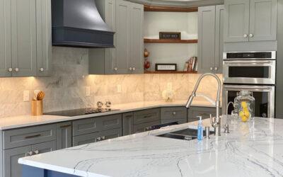 Fayetteville Blue Kitchen