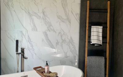 Elan Way Black Master Bathroom